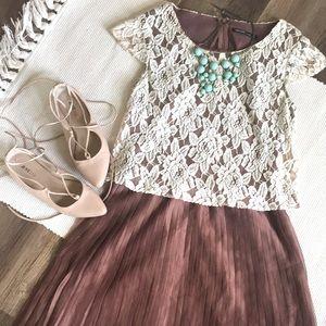 Formal Knee-length Dress